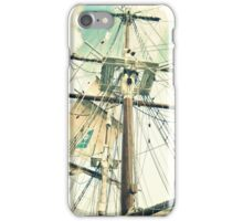 Through Her Masts and Spars iPhone Case/Skin
