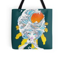 80s Wave Catastrophy Tote Bag
