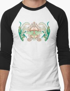 Moon Moth Men's Baseball ¾ T-Shirt