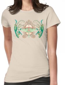 Moon Moth Womens Fitted T-Shirt