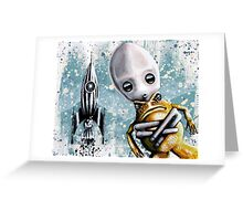 Alex lands Greeting Card
