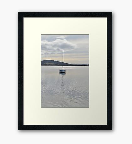 A Perfect Evening Framed Print