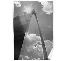 Sunshine on the arch Poster