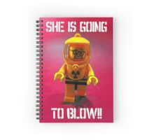 She is going to blow! Spiral Notebook