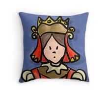 The Card Queen Throw Pillow
