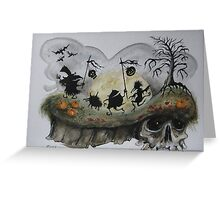 Halloween Night! Greeting Card