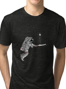 Space cricket Tri-blend T-Shirt