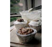 Icing on the (Cup)cake Photographic Print
