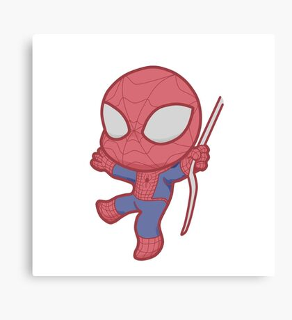Little Spidey! Canvas Print