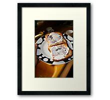 Toasty Framed Print