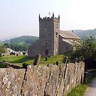 Hawkeshead Church, Lake District, UK. by Roy  Massicks