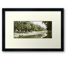 Siem Reap River Framed Print