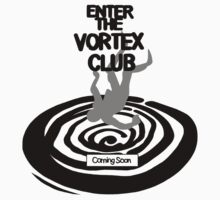 Enter The Vortex Club (High Res) Kids Clothes