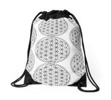 Spiritual Kloth FOLife Drawstring Bag by Kordial Orange Drawstring Bag