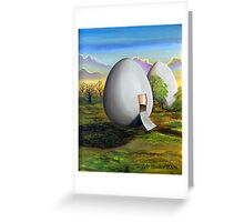 Back to the egg Greeting Card