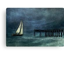 Like The Weather Canvas Print