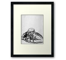 Haircut Fritz Framed Print