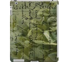 Variations on the Word Love  iPad Case/Skin