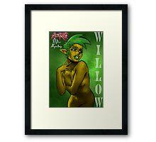 Girls of Azerath - Miss Spring Framed Print