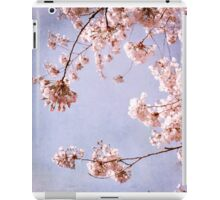 cherry blossoms in spring sky iPad Case/Skin