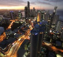 Surfers Paradise at Dusk by Lynton Brown