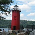 Little Red Lighthouse by Mary Tomaselli