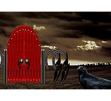 BEYOND THE RED GATE Photographic Print