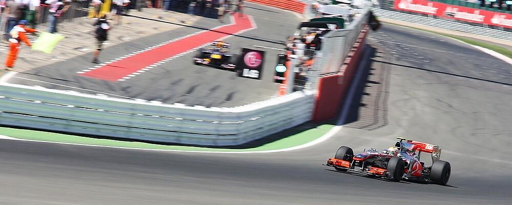 McLaren MP4-25, Lewis Hamilton by Ben Luck