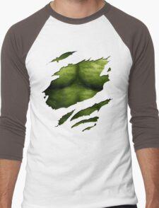 The Incredible Green Super Soldier Men's Baseball ¾ T-Shirt