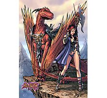 Kailyn The DragonRider Photographic Print