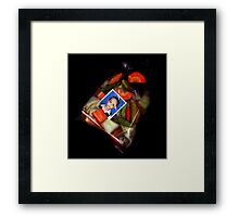 dewa and his pickles Framed Print