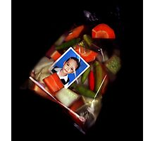 dewa and his pickles Photographic Print