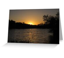 Arizona Sunset ~10 Greeting Card