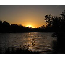 Arizona Sunset ~10 Photographic Print