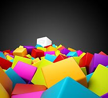 colourful blocks by Spency15
