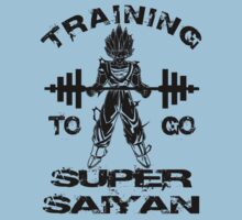 Training To Go Super Saiyan Kids Tee