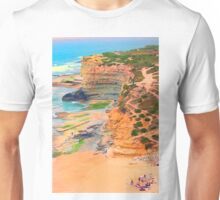 Ericeira cliffs Unisex T-Shirt