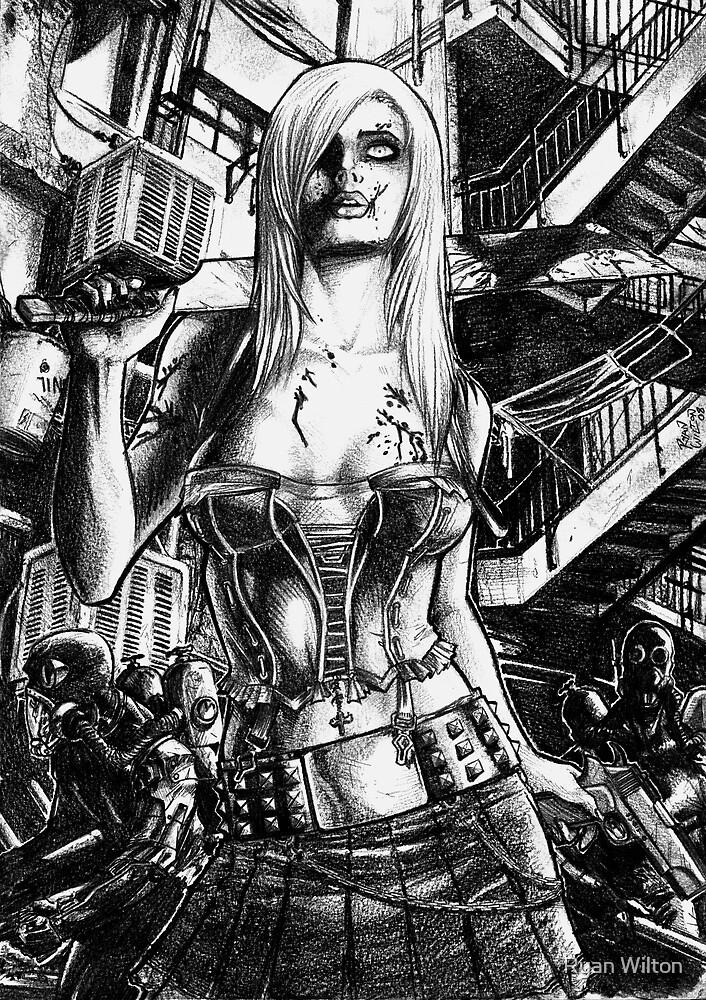 Zombie  Deception by Ryan Wilton