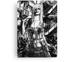 Zombie  Deception Canvas Print