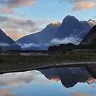 Milford Reflections by Peter Hammer