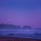 Evening at Yaquina Head Lighthouse by Ken Fortie