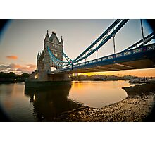 Sunrise at Tower Bridge. London. UK. Photographic Print
