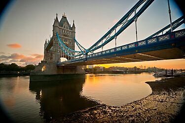 Sunrise at Tower Bridge. London. UK. by DonDavisUK