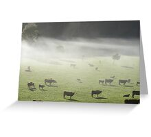 mistiness by Gentle Annie Greeting Card