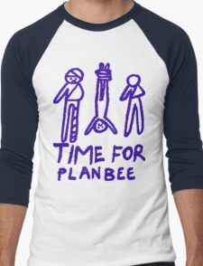 Time for Plan Bee Bandage Men T-Shirt