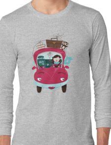 Girly Car Long Sleeve T-Shirt