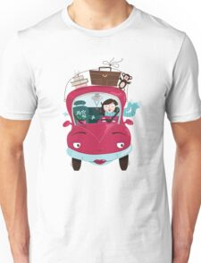 Girly Car Unisex T-Shirt