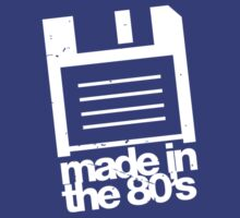 Made in the 80's - white by buud