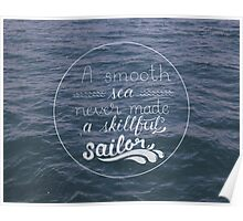 Skillful Sailor. Poster