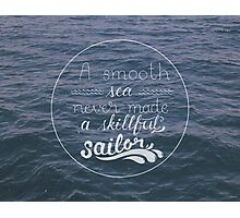 Skillful Sailor. Photographic Print